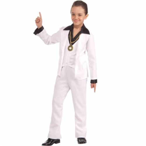 Forum Novelties Costumes 272282 70s Disco Fever Child Costume - Medium Perspective: front