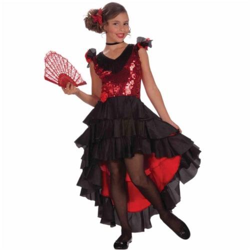 Forum Novelties Costumes 273663 Spanish Dancer Designer Child Costume - Medium Perspective: front