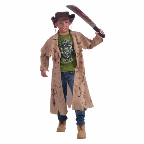 Forum Novelties Costumes 277195 Kids Zombie Hunter Costume, Medium Perspective: front
