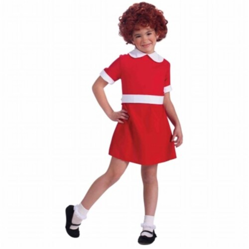 Forum Novelties Annie Child Costume Small - 4-6 Perspective: front