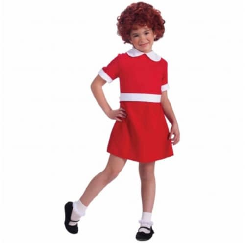 Forum Novelties Annie Child Costume Medium - 8-10 Perspective: front