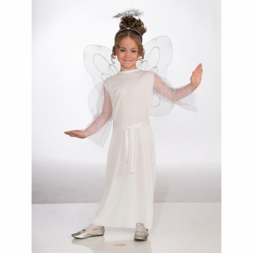 Forum Novelties Costumes 275136 Girls Angel Costume - Large Perspective: front