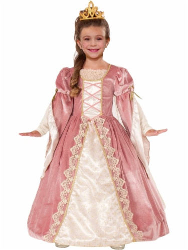 Seasons Children's Large 12-14 Victorian Rose Costume Perspective: front
