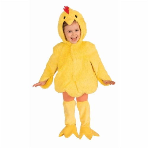 Forum Novelties 275749 Plush Chicken Child Costume, Small Perspective: front