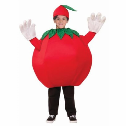 Forum Novelties 243439 Tomato Child Costume, Red - One Size Perspective: front