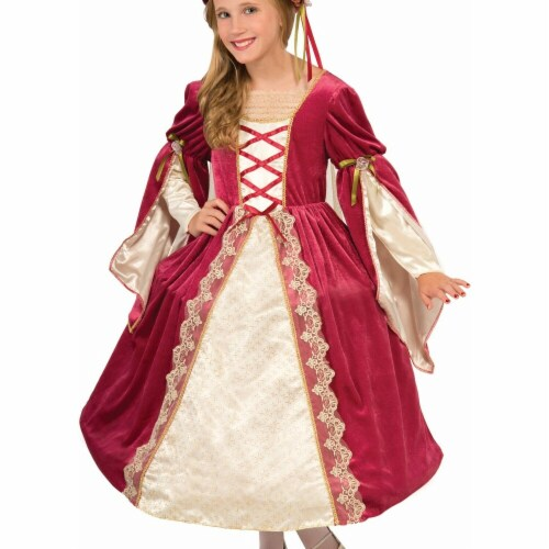 Forum Novelties Costumes 272677 English Princess Child Costume - Medium Perspective: front