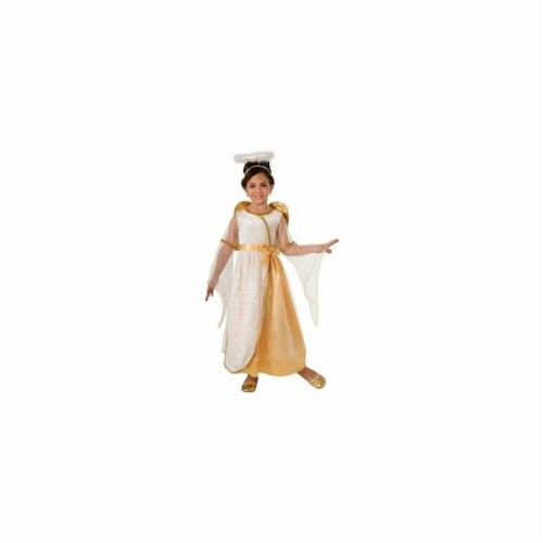 BuySeasons 402317 Girls Angel Costume, Golden Perspective: front