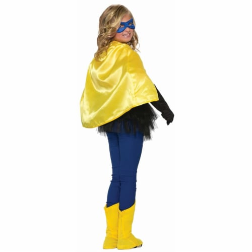 Forum Novelties 281032 Halloween Yellow Child Cape - One Size Perspective: front