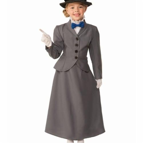 Forum Novelties 272732 English Nanny Child Costume - Medium Perspective: front
