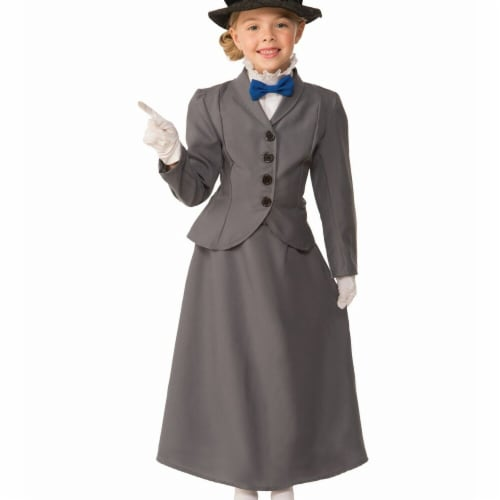 Forum Novelties 272731 English Nanny Child Costume - Large Perspective: front
