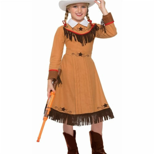 Forum Novelties 272718 Texas Rosie Child Costume - Medium Perspective: front