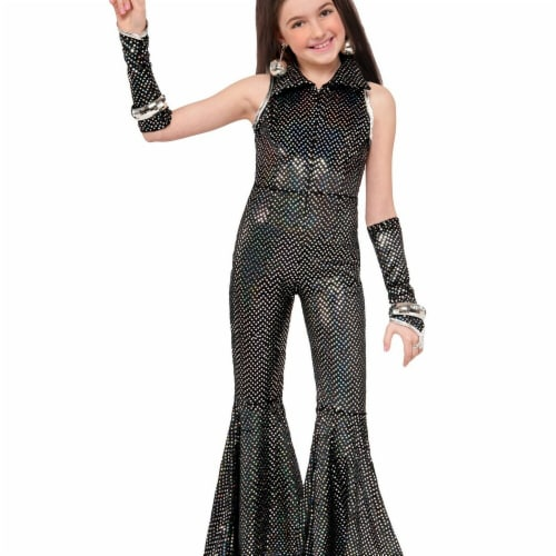 Forum Novelties 271550 Boogie Girl Child Costume - Medium Perspective: front