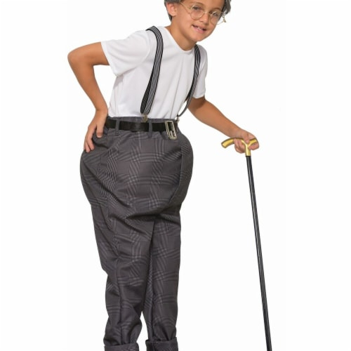 Forum Novelties 272509 Uncle Bert Child Costume - Medium Perspective: front