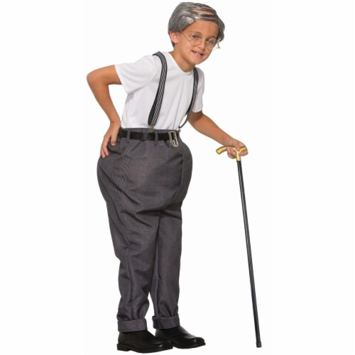 Forum Novelties 272508 Uncle Bert Child Costume - Large Perspective: front