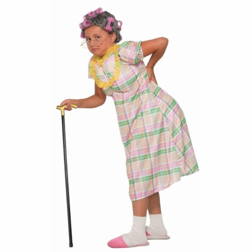 Forum Novelties 272505 Aunt Gertie Child Costume - Large Perspective: front