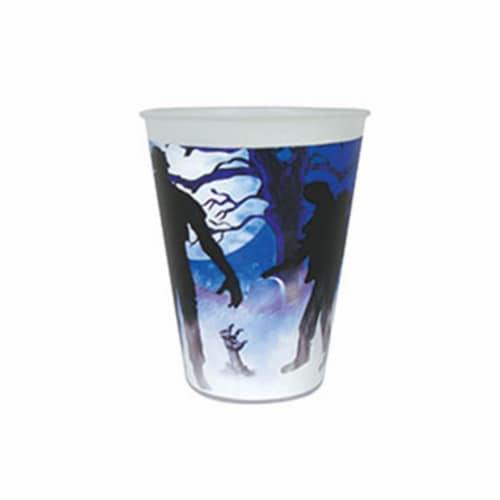 Forum FM79140 9 oz Zombie Party Cups - 8 Piece Perspective: front