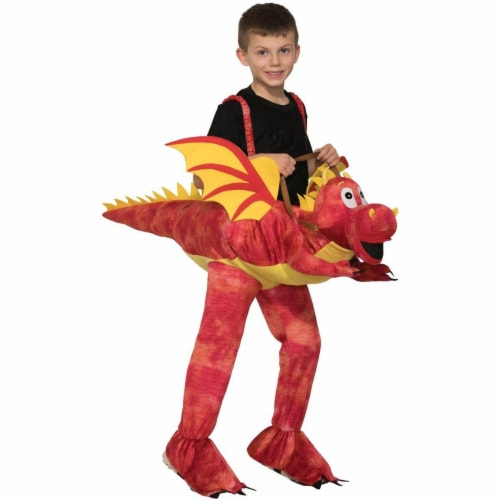 Forum Novelties 277368 Halloween Kids Ride-A-Dragon Costume - One Size Perspective: front
