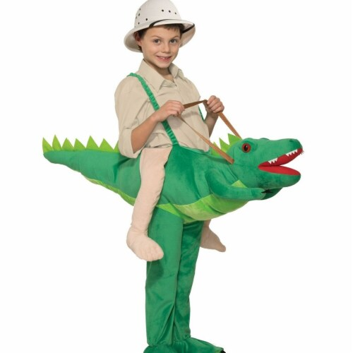 Forum Novelties 277369 Halloween Kids Ride-A-Alligator Costume - One Size Perspective: front