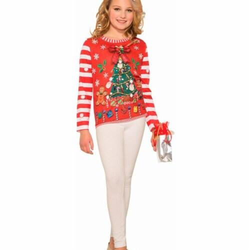 Forum Novelties 275451 Christmas Santa Shirt Child - Small Perspective: front