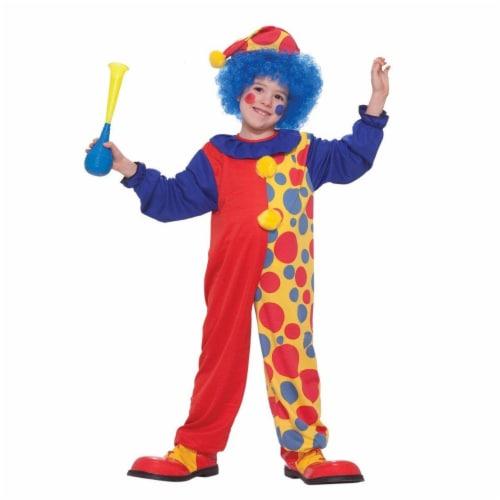 Forum Novelties 277383 Halloween Baby Clown Costume Perspective: front
