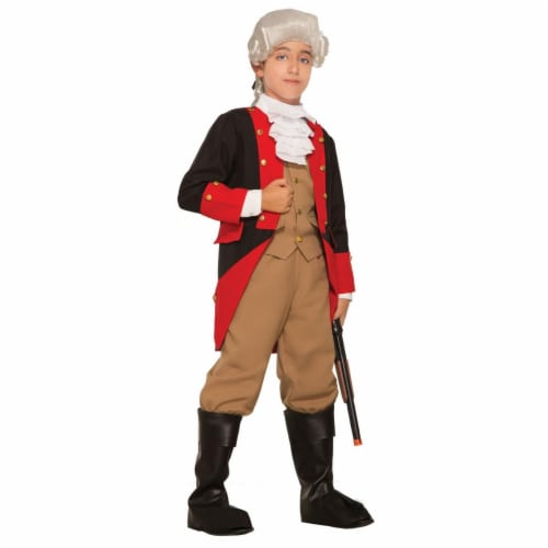 Forum Novelties 277389 Halloween Boys British Red Coat Costume - Small Perspective: front