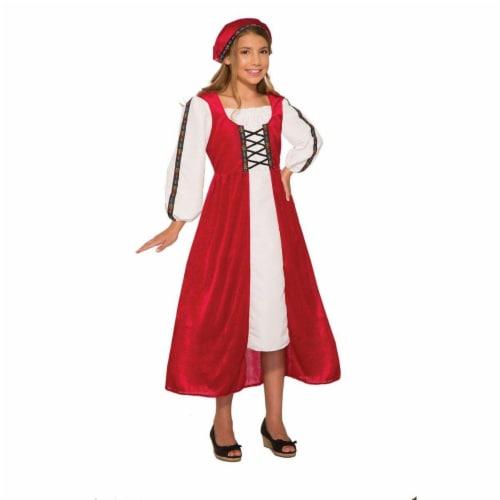 Forum Novelties 277427 Halloween Girls Renaissance Faire Girl Costume - Small Perspective: front