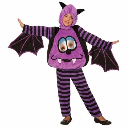 Forum Novelties 277479 Halloween Baby Wiggle Eyes-Bat Costume - Small Perspective: front