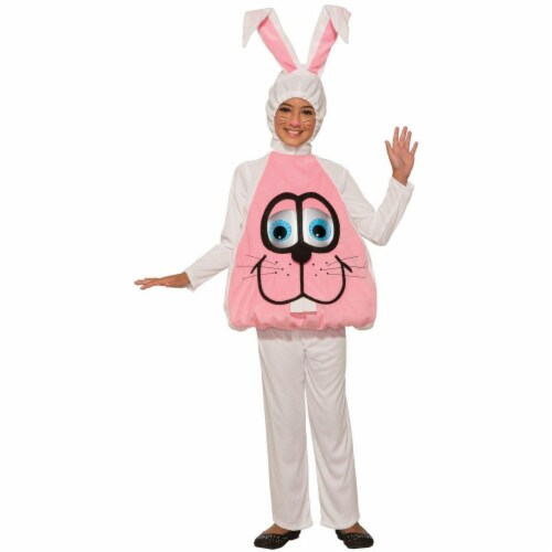 Forum Novelties 277482 Halloween Baby Wiggle Eyes-Bunny Costume - Toddler Perspective: front