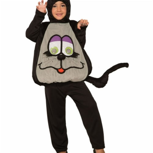 Forum Novelties 277483 Halloween Baby Wiggle Eyes-Cat Costume - Small Perspective: front