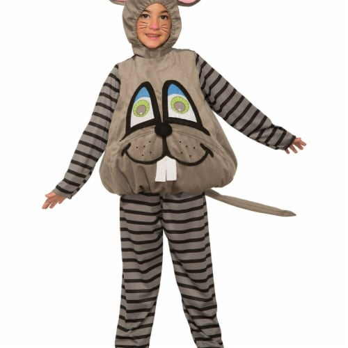 Forum Novelties 277485 Halloween Baby Wiggle Eyes-Mouse Costume - Small Perspective: front