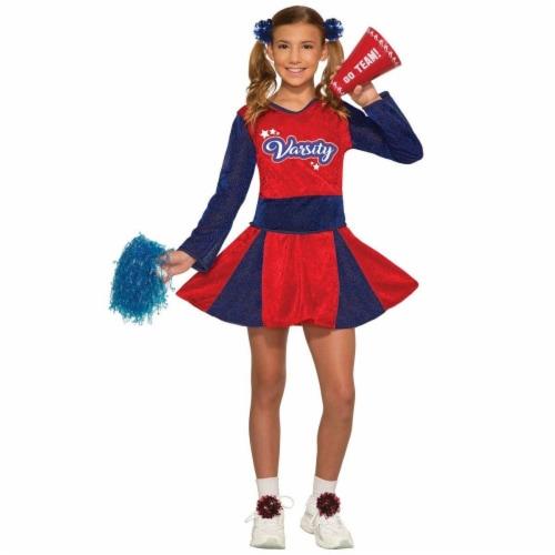 Forum Novelties 277499 Halloween Girls Cheerleader Costume - Medium Perspective: front