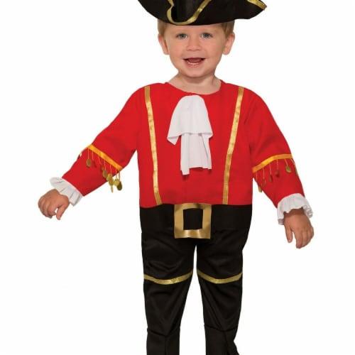 Forum Novelties 277543 Halloween Baby Captain Cutie Costume Perspective: front