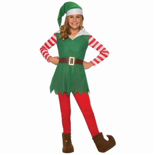 Forum Novelties 275463 Christmas Santas Helper Child Costume - Small Perspective: front