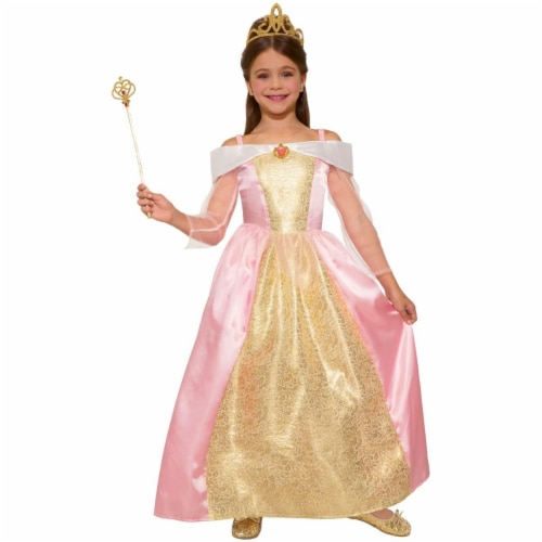 Forum Novelties 277589 Halloween Girls Princess Paisley Rose Costume - Large Perspective: front