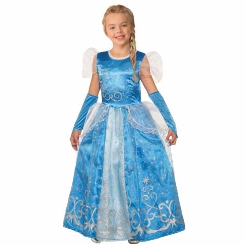 Forum Novelties 277596 Halloween Girls Princess Celestia Blue Costume - Medium Perspective: front