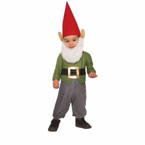 Forum Novelties 277614 Halloween Baby Garden Gnome Costume - Toddler Perspective: front