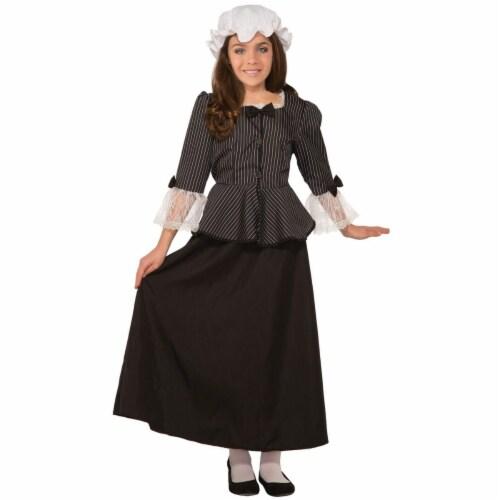 Forum Novelties 277673 Halloween Girls Martha Washington Costume - Small Perspective: front