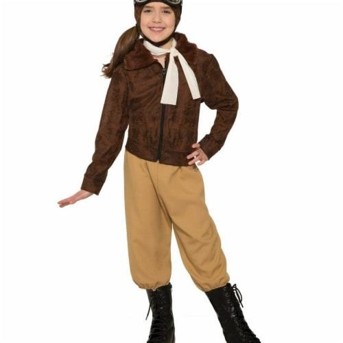 Forum Novelties Amelia Earheart Medium Children's Costume Perspective: front