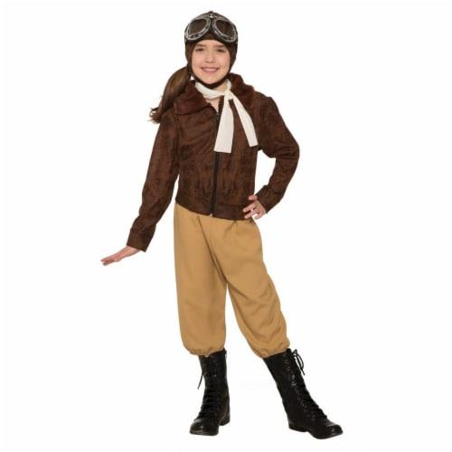 Forum Novelties Amelia Earheart Large Children's Costume Perspective: front