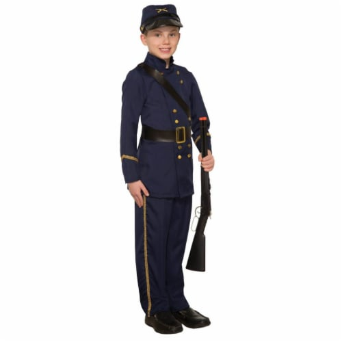 Forum Novelties 277751 Halloween Boys Civil War Soldier Costume - Small Perspective: front