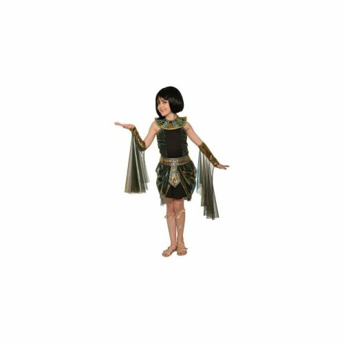 BuySeasons 280883 Egyptian Fantasy Cleopatra Costume, Small 4-6 Perspective: front