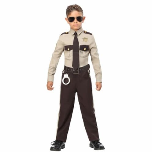 Forum Novelties 414297 Child New Sheriff in Town Costume for Boys, Small Perspective: front