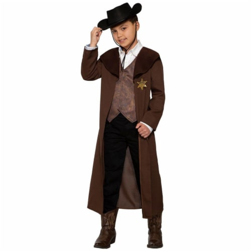 Forum Novelties 414298 Child New Sheriff in Town Costume for Boys, Medium Perspective: front