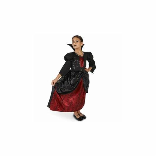 Forum Novelties 414310 Child Little Vampire Queen Girls Costume, Medium Perspective: front