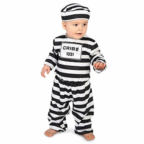 Forum Novelties 414312 Child Doin Time Infant Costume, NS3 Perspective: front
