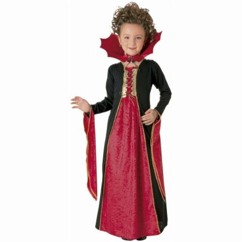 Forum Novelties 414317 Child Gothic Vampiress Girls Costume, Medium Perspective: front