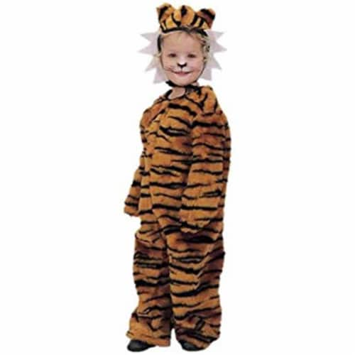 Forum Novelties 414288 Child Tiger Cub Costume for Girls, Small Perspective: front