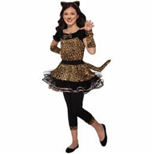 Forum Novelties 414294 Child Wildcat Cutie Costume for Girls, Small Perspective: front