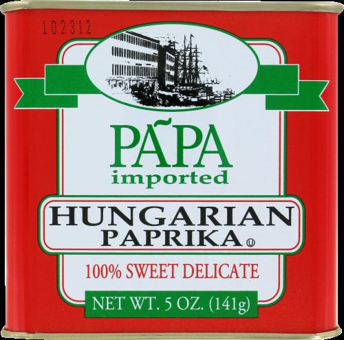 Papa Hungarian Paprika Perspective: front