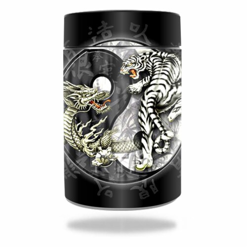MightySkins RTCAN-Yin And Yang Skin for RTIC Can 2016 Wrap Cover Sticker - Yin & Yang Perspective: front